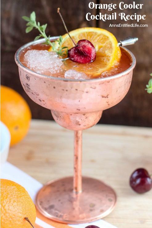 Orange Cooler Cocktail