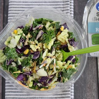 Easy clean eating with an Avocado Ranch Salad