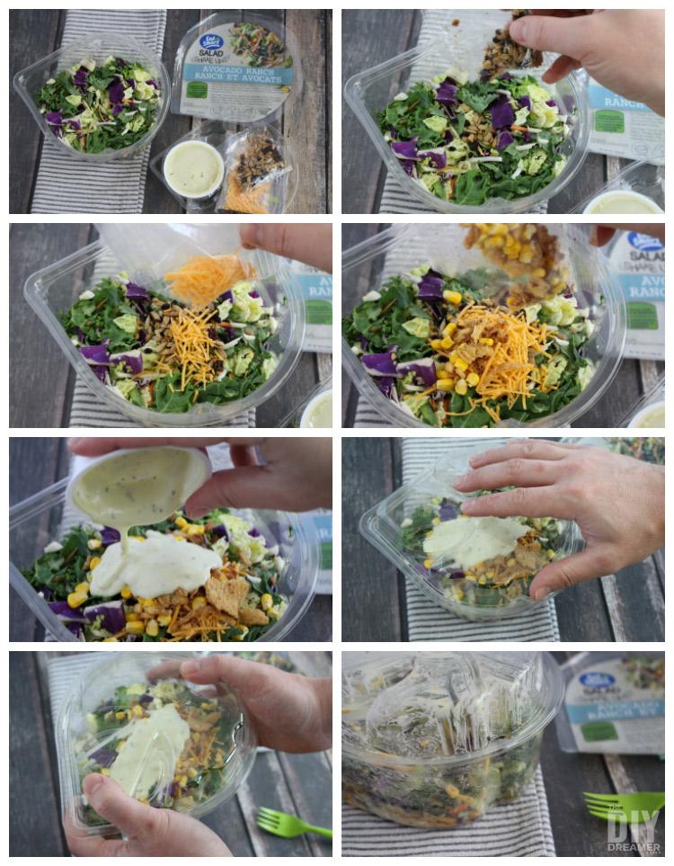 Eat Smart Salad Shake Ups - Clean Eating