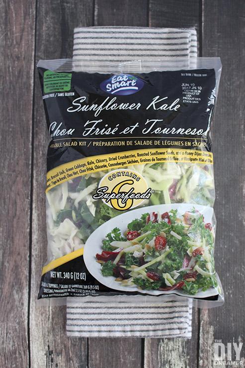Eat Smart Sunflower Kale Gourmet Salad Kit