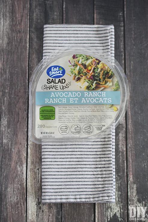 Eat Smart Salad Shake Ups - Avocado Ranch