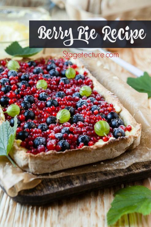 Patriotic Berry Pie Recipe