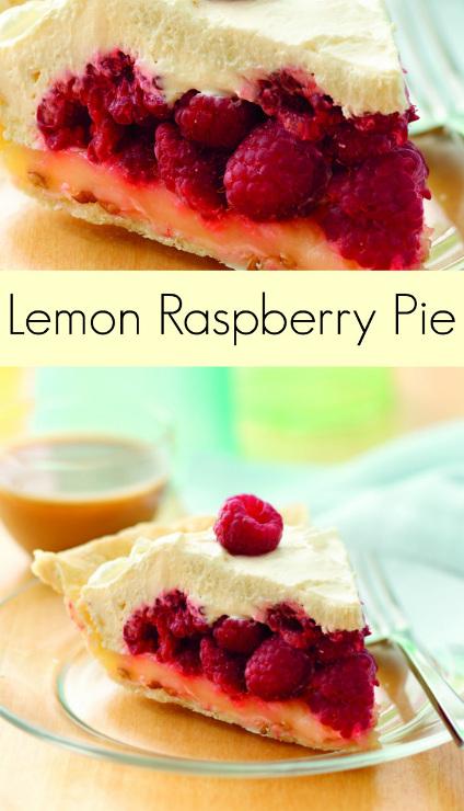 Lemon Raspberry Pie Recipe