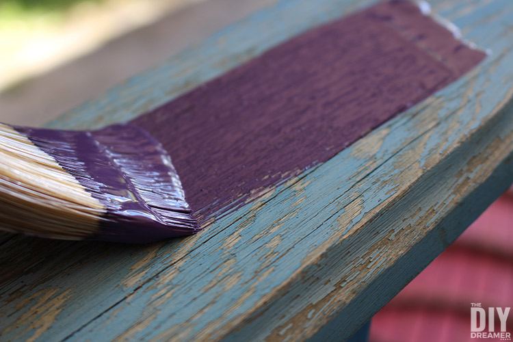 How to paint Adirondack chairs.