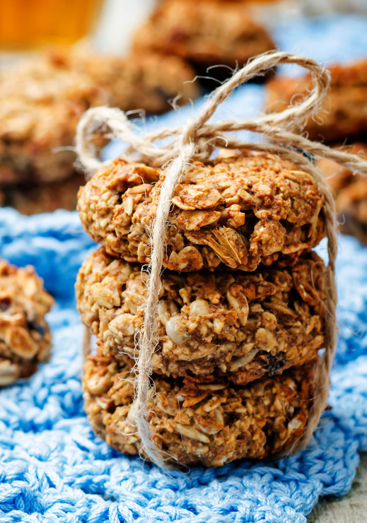 Banana Oat Bread Cookies