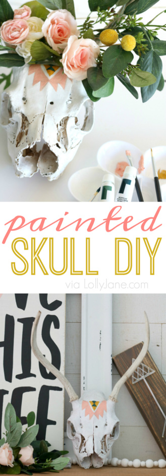 Painted Skull Tutorial