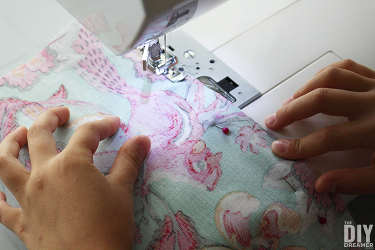 Kids can learn how to sew easily