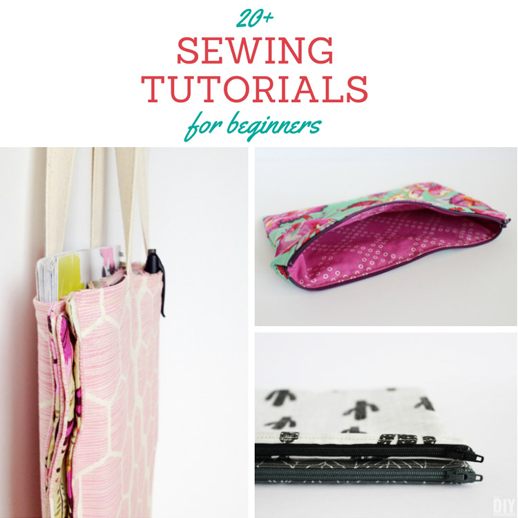 20 sewing tutorials for beginners great collection of for Diy crafts for beginners