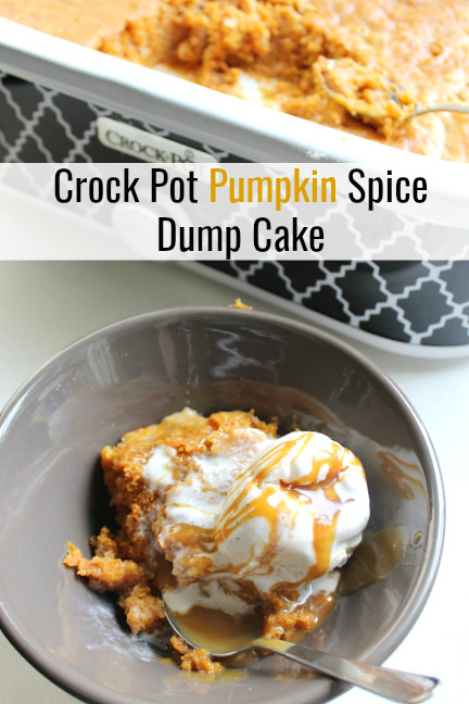 Crock Pot Pumpkin Spice Cake