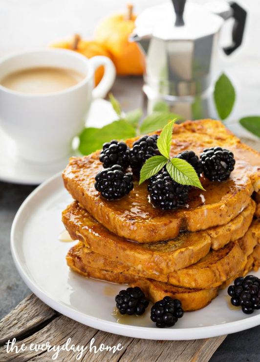 Easy Recipe for Pumpkin French Toast