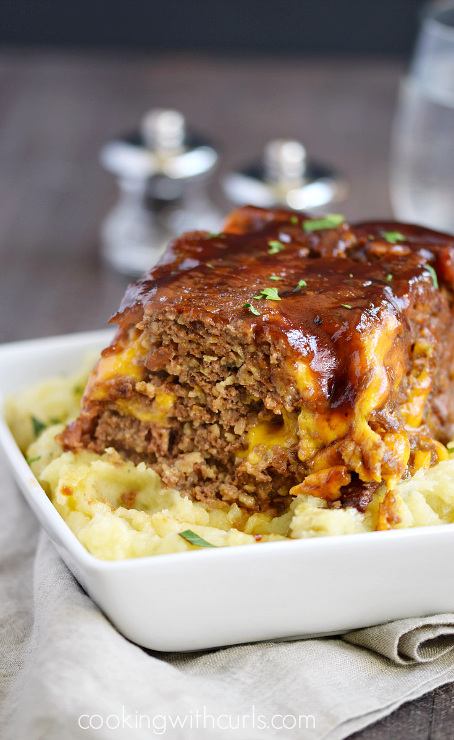 Instant Pot Bacon Cheeseburger Meatloaf