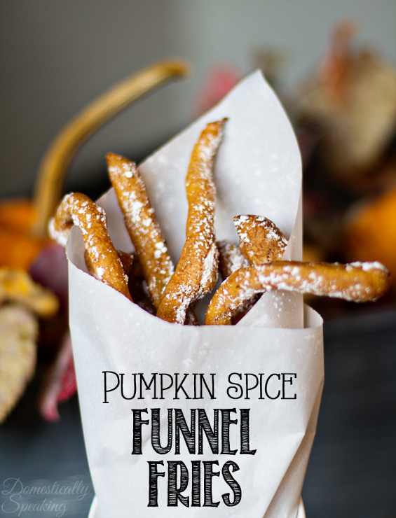 Pumpkin Spice Funnel Fries Recipe