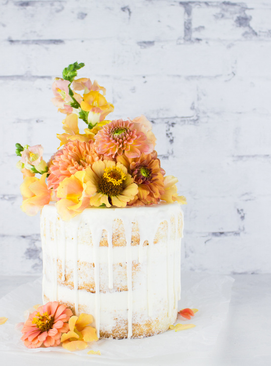 Almond Poppy Seed Apricot Cake