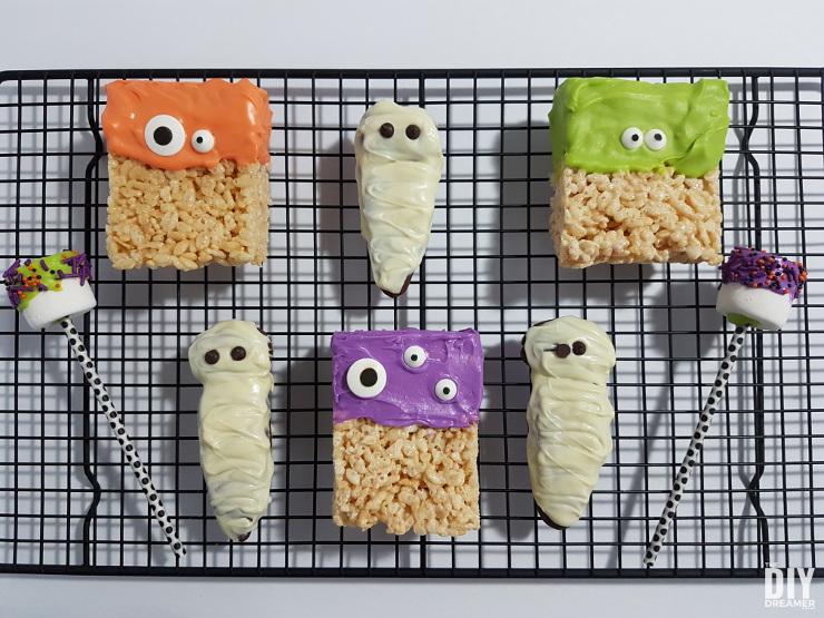 Halloween Treats for a bake sale