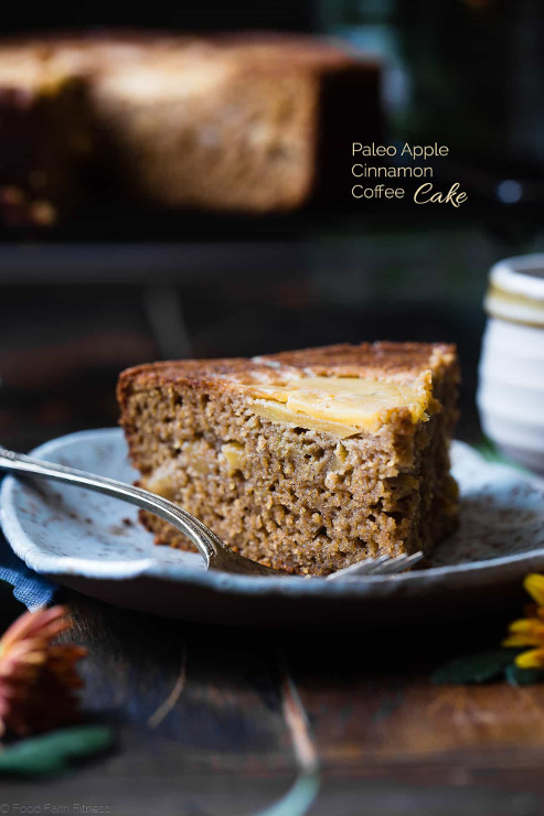 Paleo Apple Gluten Free Coffee Cake