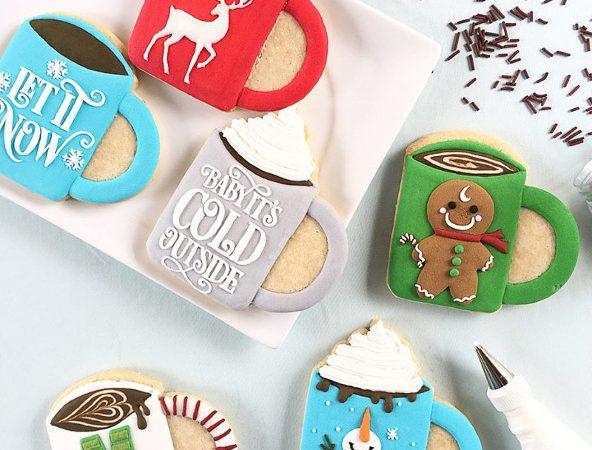 Christmas mug sugars cookies. Too cute to eat!