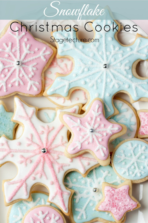 Holiday Snowflakes Christmas Cookie Recipe