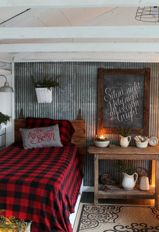 Woodland Christmas Guest Room