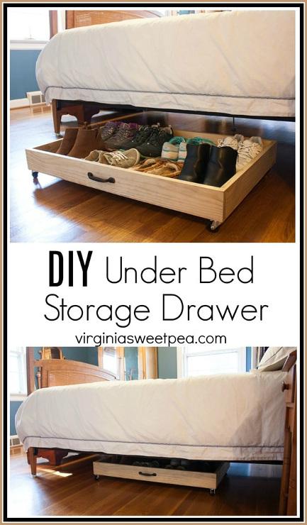 DIY Under Bed Storage Drawer
