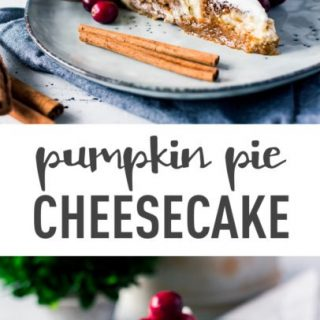Amazing Dessert: Pumpkin Pie Cheesecake