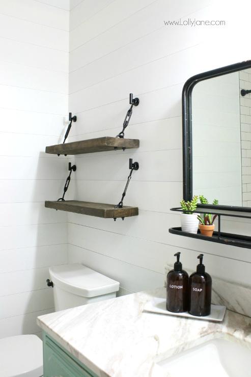 DIY Turnbuckle Shelf