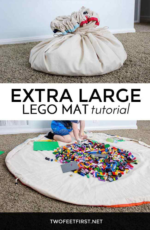 Extra Large Lego Mat Sewing Tutorial