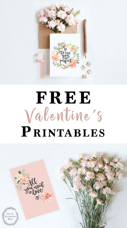 Free Printable Valentine's Cards