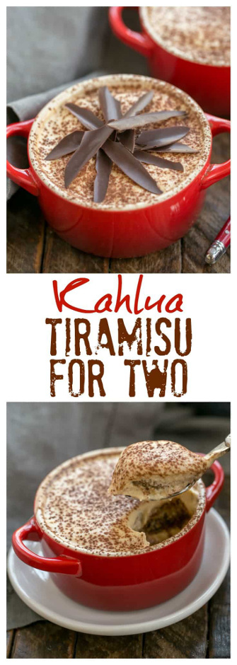 Kahlua Tiramisu for Two