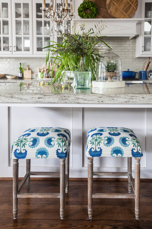 Kitchen Stool Slipcovers