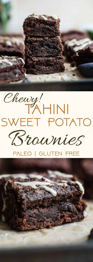 Paleo Sweet Potato Brownies Recipe
