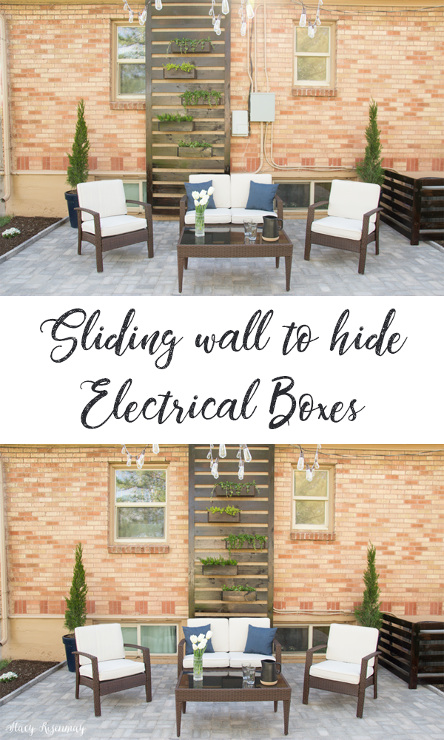 How to Hide Electrical Boxes On Your House