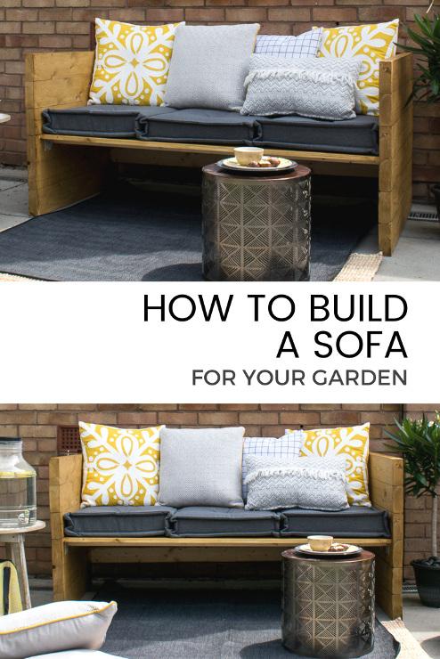 Build An Outdoor Sofa