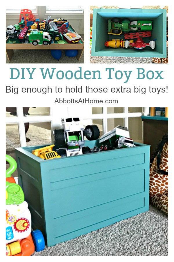 DIY Wooden Toy Box