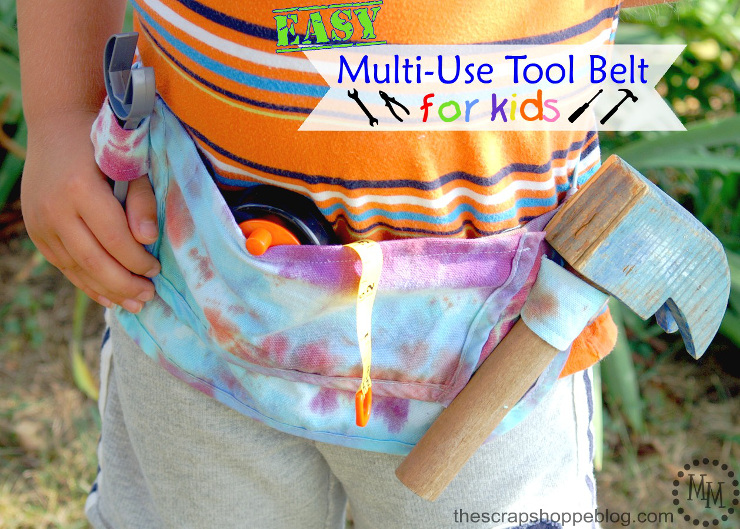 Multi-Use Tool Belt for Kids