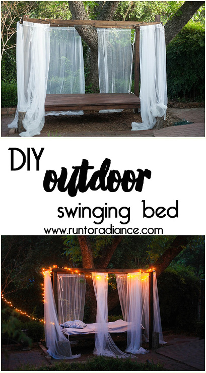 How to Build an Outdoor Swinging Bed