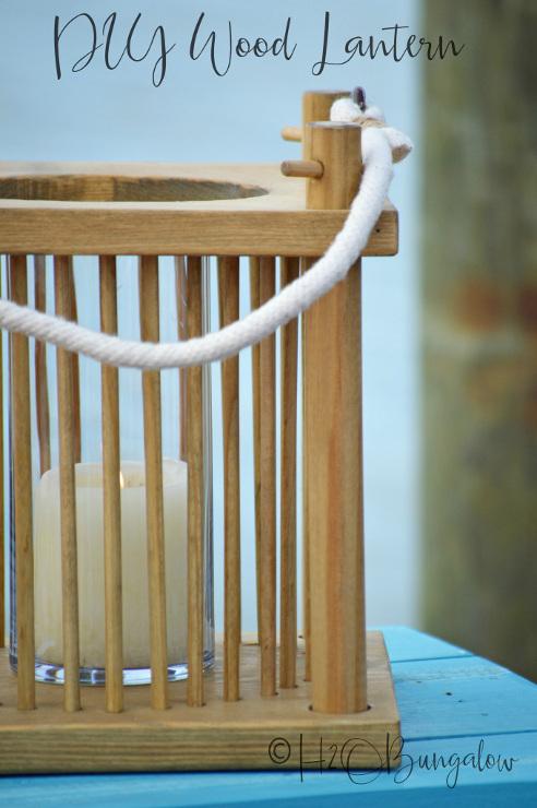 DIY Wood Lantern Tutorial
