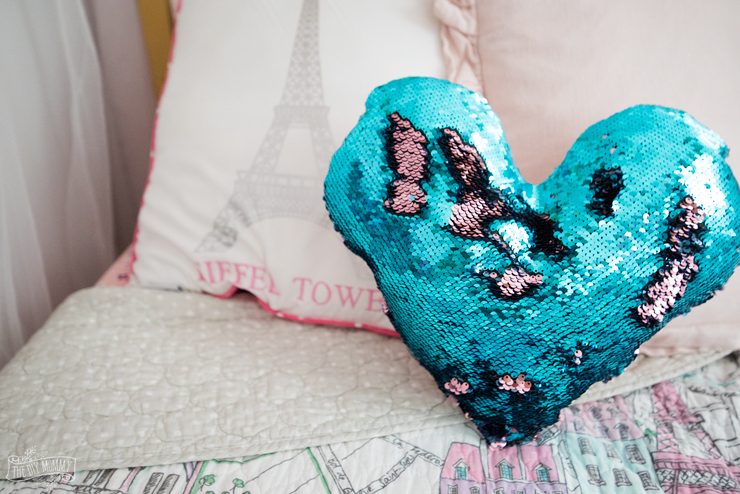 Sew a Mermaid Sequin Pillow