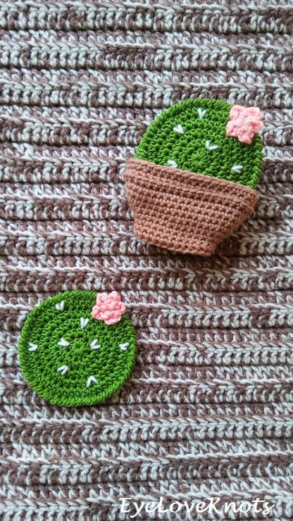 Prickly Pear Cactus Coasters