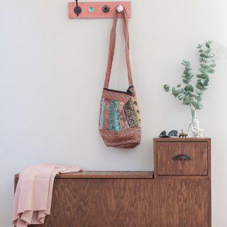 DIY Entryway Bench With Storage