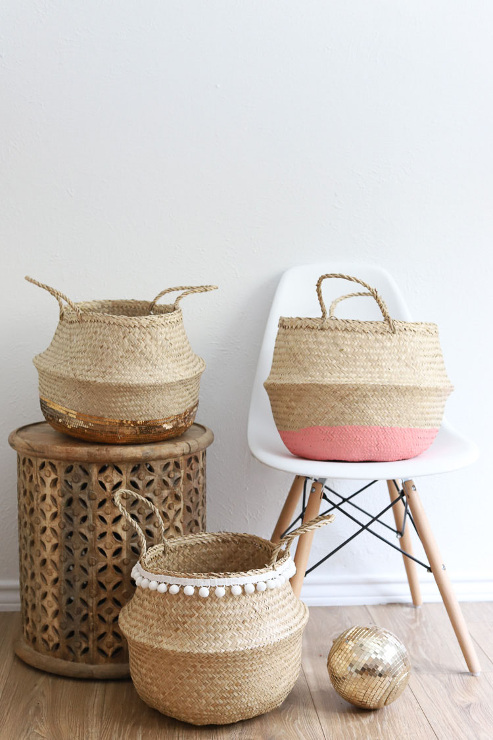 Wicker Basket 3 Way for Cute Storage