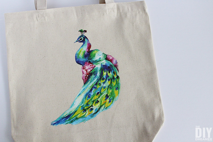DIY custom tote bag