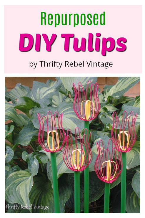 How To Make Repurposed DIY Tulips