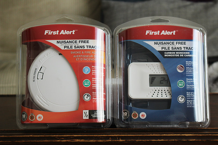 Home Safety - How to keep your family safe with smoke alarms and carbon monoxide alarms.