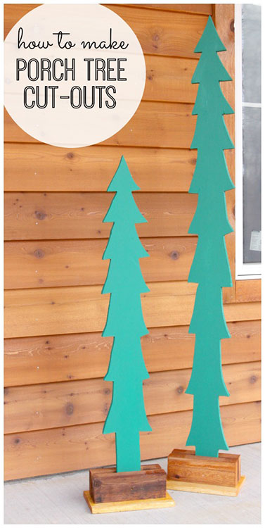 Porch Tree Cut-Outs