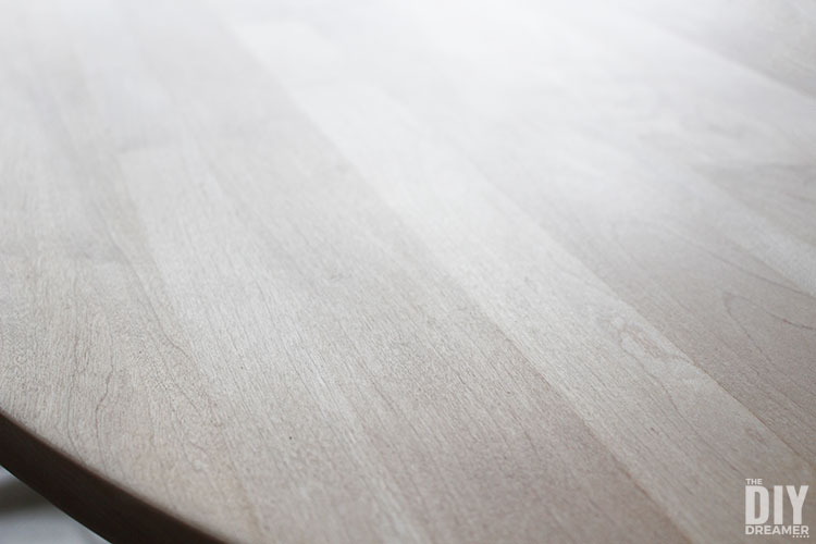How to sand a tabletop to bare wood