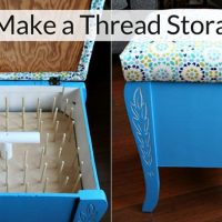 How to Make a Thread Storage Stool
