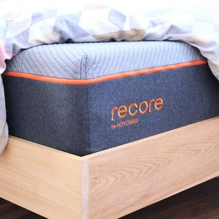 Recore performance mattress is a bed in a box that helps with restorative sleep.