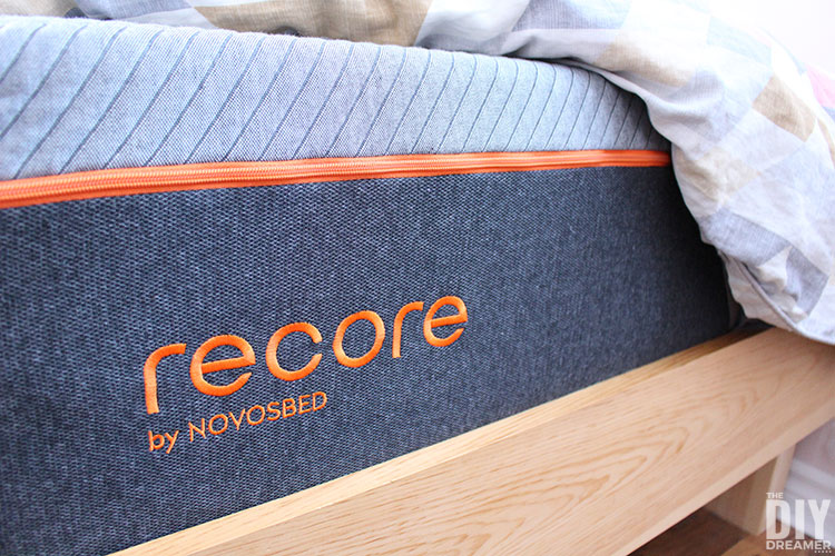 Recore Restorative Sleep. Mattress with maximum comfort for peak performance. Bed in a box.