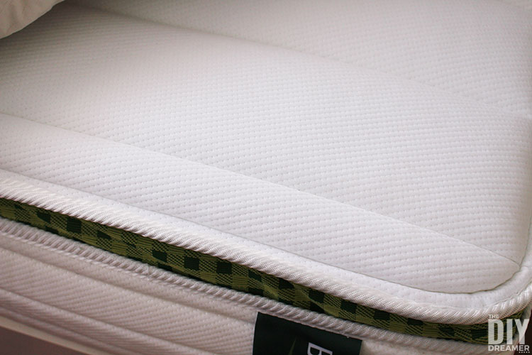 Brunswick mattress with classic spring comfort.