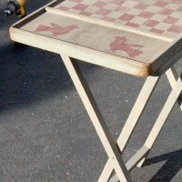 Easy DIY TV Tray Table Makeover – Just Measuring Up
